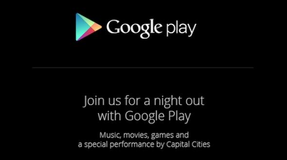 Google Play Night