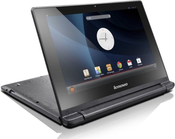 Lenovo IdeaPad A10  sc 1 st  Liliputing & Lenovo IdeaPad A10 is a convertible Android netbook (with tent ...