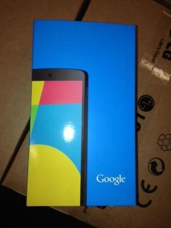 Google Nexus 5 box