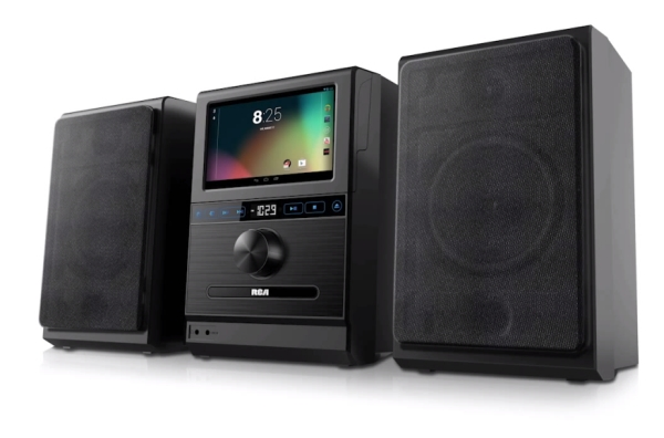 rca internet music system is a stereo powered by an. Black Bedroom Furniture Sets. Home Design Ideas