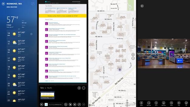 Windows 8.1 multitasking