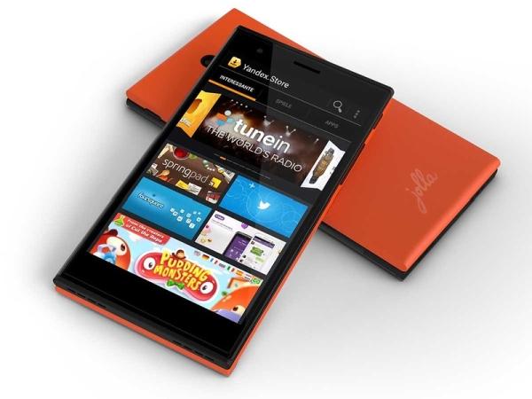 Jolla phone with Yandex Store