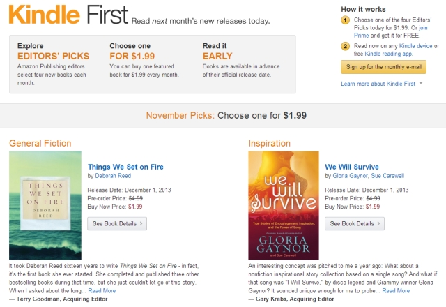 amazon kindle first and countdown deals offer reason