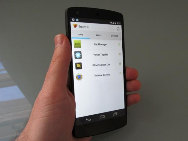 Google Nexus 5 rooted