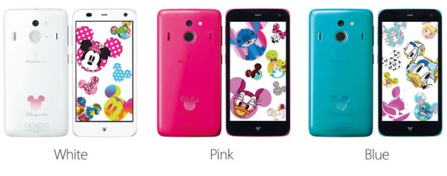 Mobile on docomo f 03f - Disney Mobile F 03f Smartphone Has Top Tier Specs Mickey