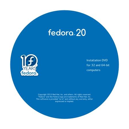 fedora 20 dvd