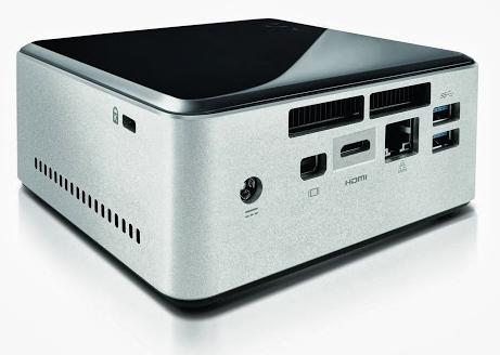 Intel NUC with 2.5 inch drive bay