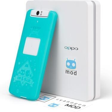 Oppo N1 smartphone with CyanogenMod