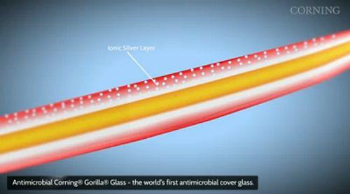 corning antibacteria gorilla glass