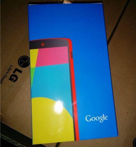 Google Nexus 5 red