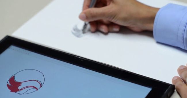 Qualcomm Ultra Sound NotePad demo