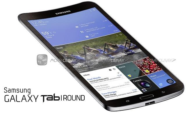 Samsung Galaxy Tab Round