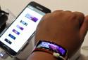 Samsung Galaxy Gear Fit watch face
