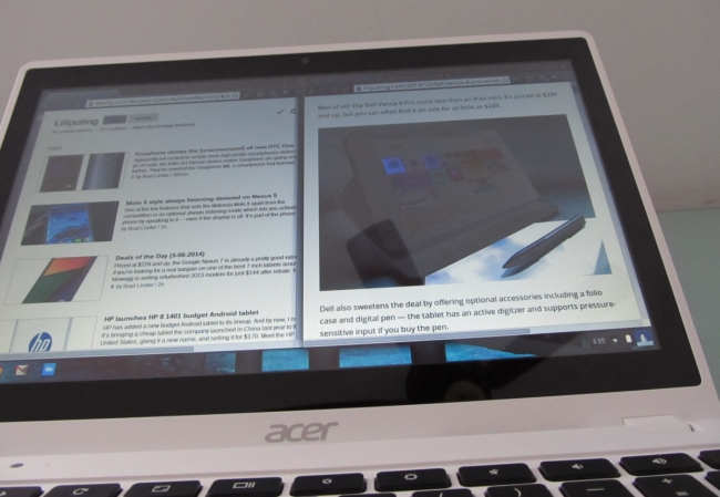 acer c720p poor viewing angles