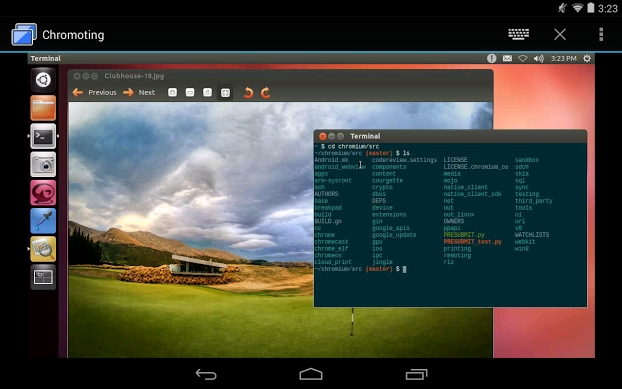 Chrome Remote Desktop for Android