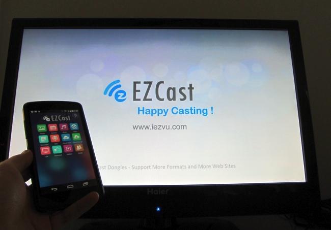 EZCast with Chromecast