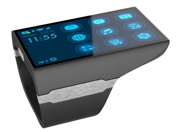 Rufus Cuff wrist communicator laughs at smartwatches ...