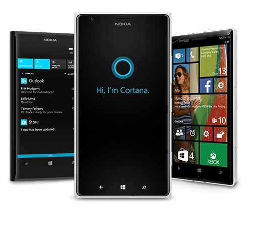 Microsoft launches windows phone 8 1 cortana voice for Windows phone