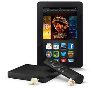 Amazon Kindle Fire HDX 7 and Fire TV