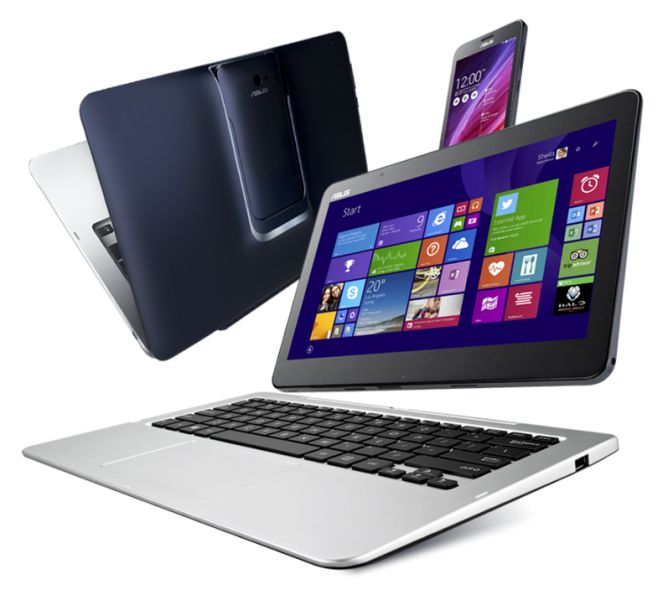 asus transformer book v is a windows laptop or android