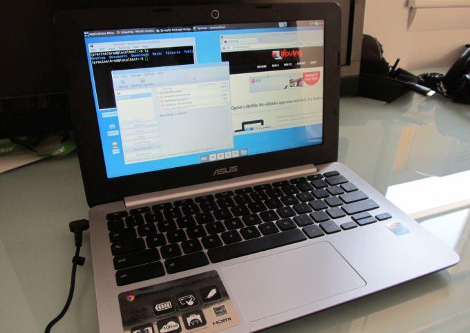 Asus C200 Chromebook with Ubuntu