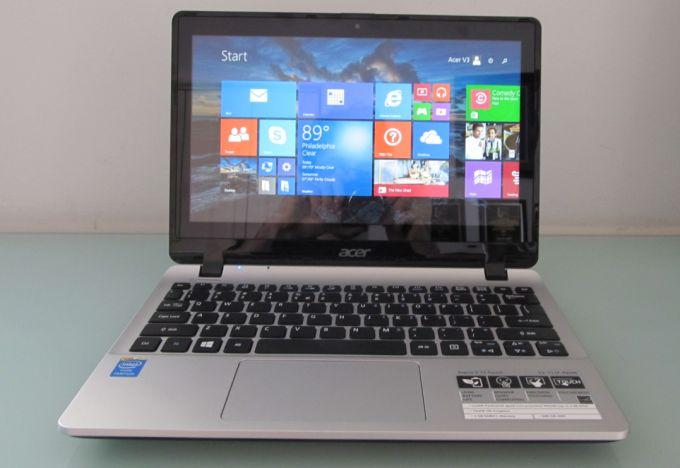 acer aspire v11 fanless touchscreen laptop review. Black Bedroom Furniture Sets. Home Design Ideas