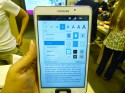 Samsung Galaxy Tab 4 Nook inside books