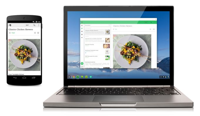 android on chrome os