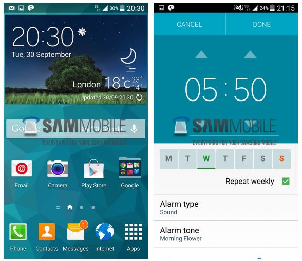 android l touchwiz