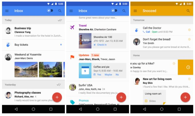 Google Inbox Is A New Invite Only Tool For Managing Email