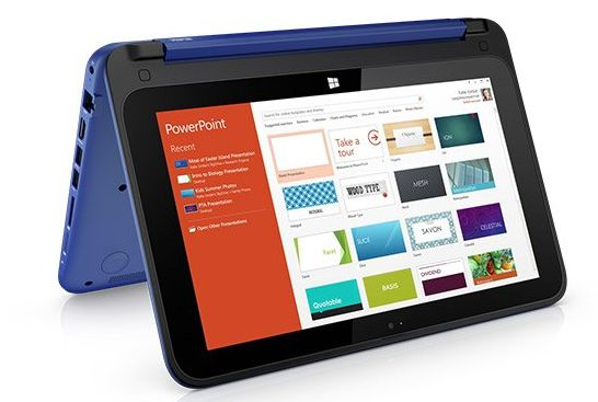 HP Stream x360 is a low-cost 11.6 inch convertible ...