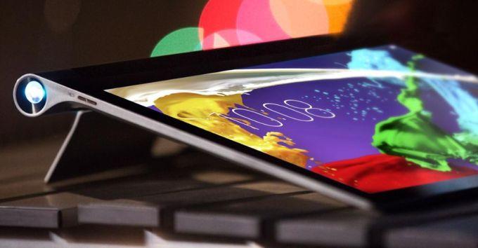 yoga tablet 2 pro projector