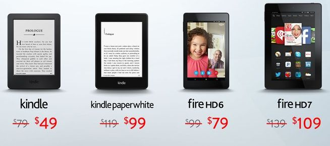 amazon s kindle and fire deals phones ereaders tablets