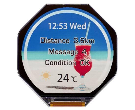 japan display smartwatch screen