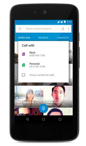 android 5.1 dual sim