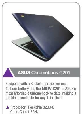 Asus C201 Chromebook