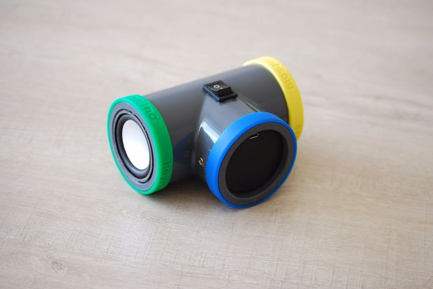 make your own bluetooth speaker out of pvc pipe