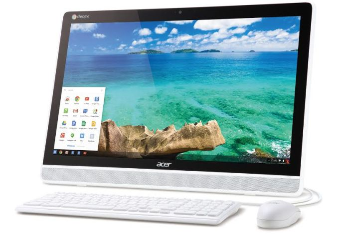acer chromebase is an all in one touchscreen chrome os. Black Bedroom Furniture Sets. Home Design Ideas
