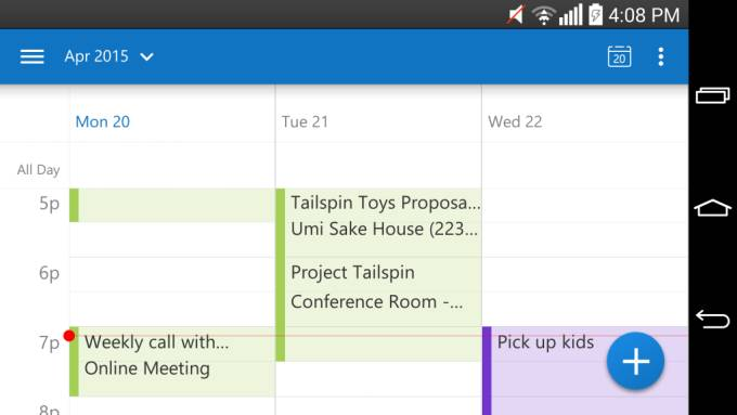 outlook android_01