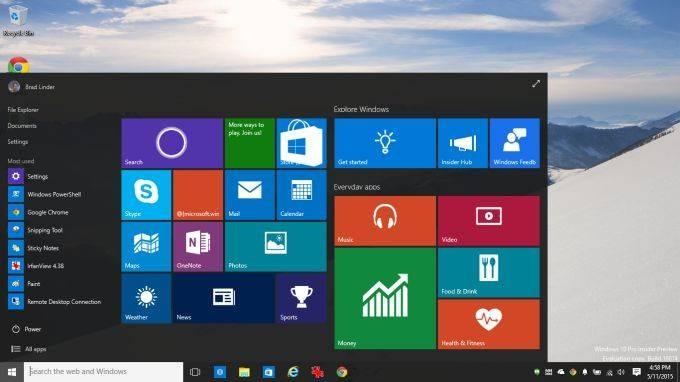 win10 desktop
