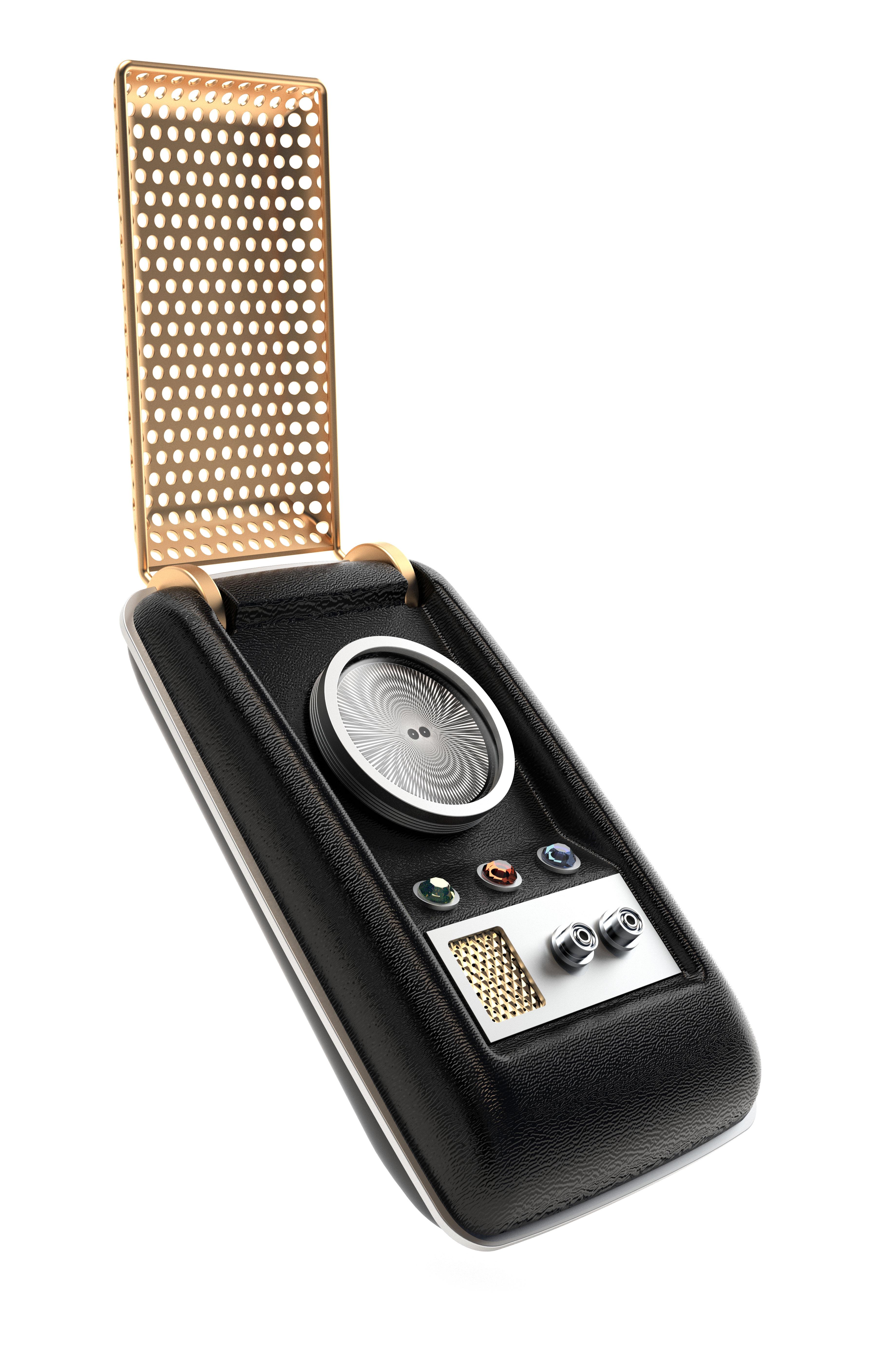 Star Trek Communicator replica lets you take calls 23rd ...
