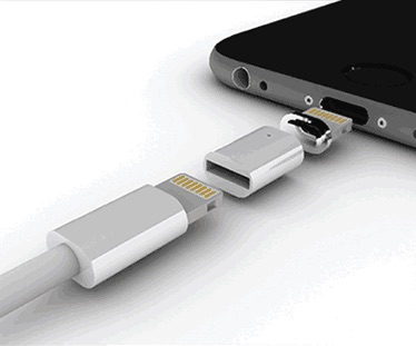 ZNAPS is a magnetic adapter for iOS and Android devices ...