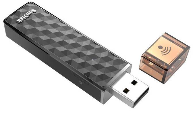 Флешка USB 64Gb SanDisk Ultra Dual SDDDC2-064G-G46 серый с узором