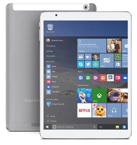 Teclast X98 Pro 9 7 Inch Windows 10 Tablet With Cherry