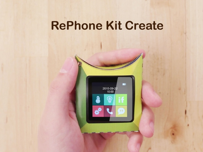 Make Your Own Smartphone With The Rephone Kit Liliputing
