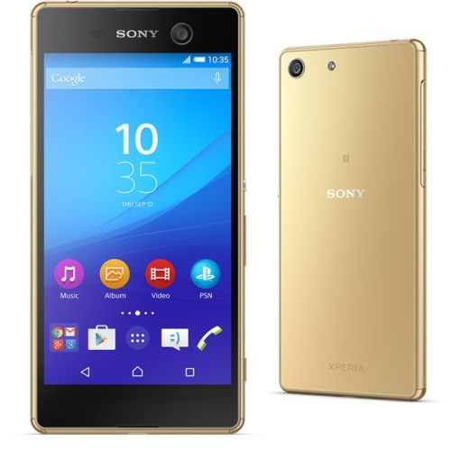 sony xperia m5 smartphone packs helio x10 cpu  21 5mp