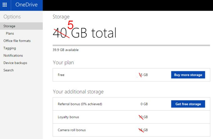 how to clear 5gb of storage