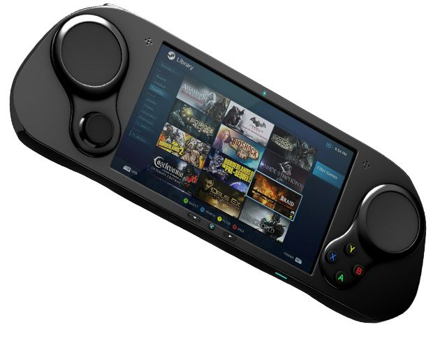 smach z handheld steam machine gaming pc hits kickstarter. Black Bedroom Furniture Sets. Home Design Ideas