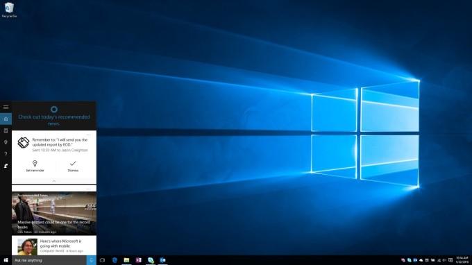 Cortana-commitments