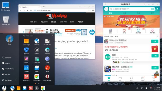 Phoenix Os Is Another Android As A Desktop Liliputing